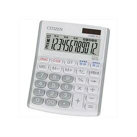 ミニデスク型電卓(12桁表示) シチズン DM120