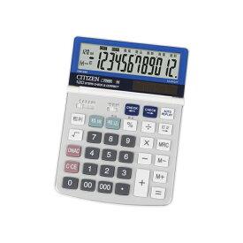 デスクトップ型 電卓(12桁表示) シチズン DM1240