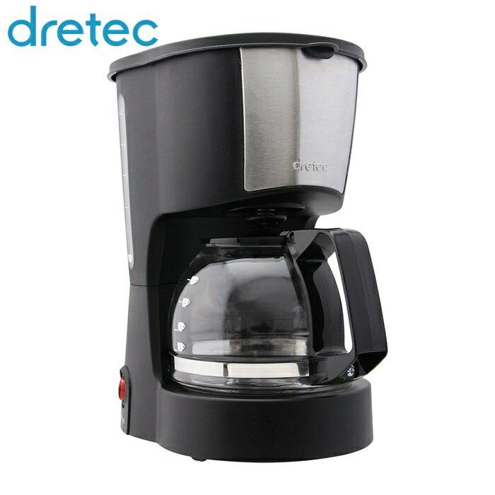 コーヒーメーカー リラカフェ ブラック ドリテック CM-100BK