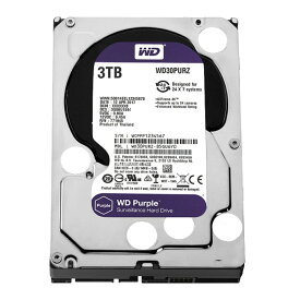 WD PURPLE 内蔵ハードディスク WD30PURZ 監視システム向きHDD/3TB/5400rpmC/64MB 内蔵hdd WD ウエスタンデジタル パソコン PC Western Digital WD30PURZ
