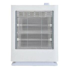 電気ストーブ 2灯 シンプル スタイリッシュ 暖房 防寒 石英管電気ストーブ ホワイト おおたけ CS-Q808