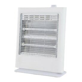 電気ストーブ 2灯 電力切替2段階 400W/800W 転倒オフスイッチ 温度過昇防止装置 暖房 電気暖房 ストーブ 防寒 OTK おおたけ GS-Q809(W)
