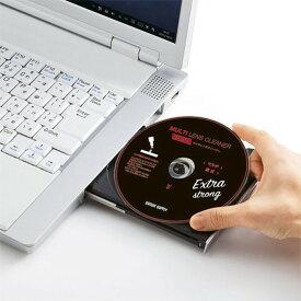 マルチレンズクリーナー 湿式 読み込みエラーでも どんな機種でも 強力クリーニングできる 安心の日本製 サンワサプライ CD-MDWAT