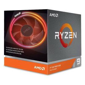 【沖縄・離島配送不可】AMD Ryzen 9 3900X with Wraith Prism Cooler BOX デスクトップ・プロセッサー AMD 100-100000023BOX