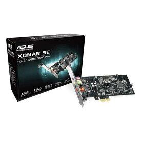 【沖縄・離島配送不可】サウンドカード 192kHz / 24ビット高解像度オーディオおよび116dB SNRを備えたXonar SE 5.1 PCIeゲーム用 エイスース ASUSTeK COMPUTER ASU-XONAR/SE