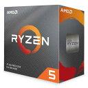 【沖縄・離島配送不可】CPU デスクトップパソコン用 AMD Ryzen 5 3600 with Wraith Stealth Cooler BOX AMD 100-100000031BOX