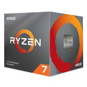 CPU デスクトップパソコン用 AMD Ryzen 7 3700X with Wraith Prism Cooler BOX AMD 100-100000071BOX