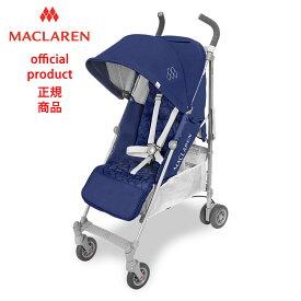 【正規販売店】【修理センター直営】2018マクラーレン クエスト Maclaren Quest _ ミディーバルブルー/シルバー Medieval Blue/Silver ベビーカー バギー ストローラー