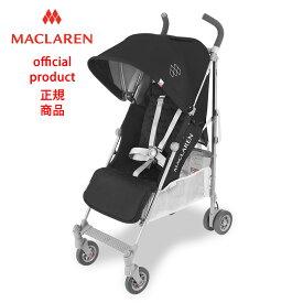 【正規販売店】【修理センター直営】2018マクラーレン クエスト Maclaren Quest _ ブラック/シルバー Black/Silver ベビーカー バギー ストローラー