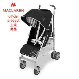 【正規販売店】【修理センター直営】2018マクラーレン テクノXT Maclaren TechnoXT _ ブラック/シルバーBlack/Silver ベビーカー バギー ストローラー