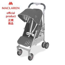 【正規販売店】【修理センター直営】2019マクラーレン テクノアーク Maclaren TechnoArc _ チャコール/シルバーCharcoal/Silver ベビーカー バギー ストローラー
