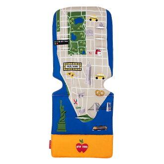 Maclaren Universal Seat Liner NewYork City Map麥克拉倫全部席班車_nyuyokushitimappubebikabagisutorora