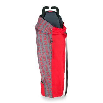 Maclaren Lightweight Stroller Storage Bag Charcoal/Cardinal麥克拉倫庫存包木炭/kadinarubebikabagisutorora