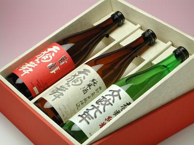 【楽ギフ_包装】天狗舞 旨味純米酒三種セット