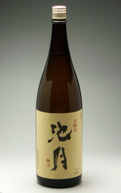 中能登町・鳥屋酒造 池月 本醸造酒 1800ml