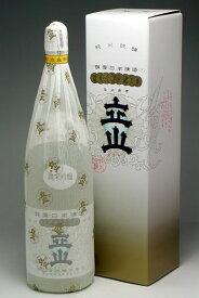 富山県の地酒 銀嶺立山 純米吟醸 1800ml