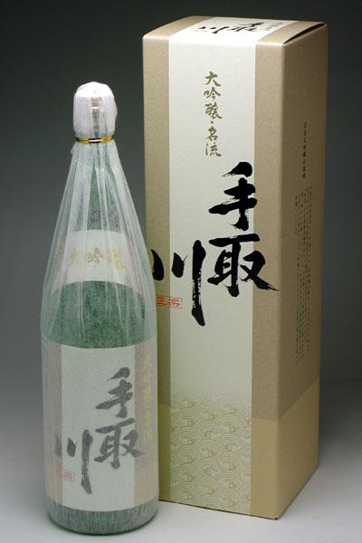 白山菊酒 手取川大吟醸 名流 1800ml