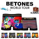ボクサーパンツ ビトーンズ パンツ【BETONES】 WORLD TOUR ワールドツアー 小さいサイズ 大きいサイズ 39ショップ