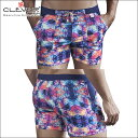 【CLEVER2016-2】 CLEVER クレバー Arawak Swimsuit Trunk Ref,0613 CLEVER スイムパンツ 【男性下着 水着...