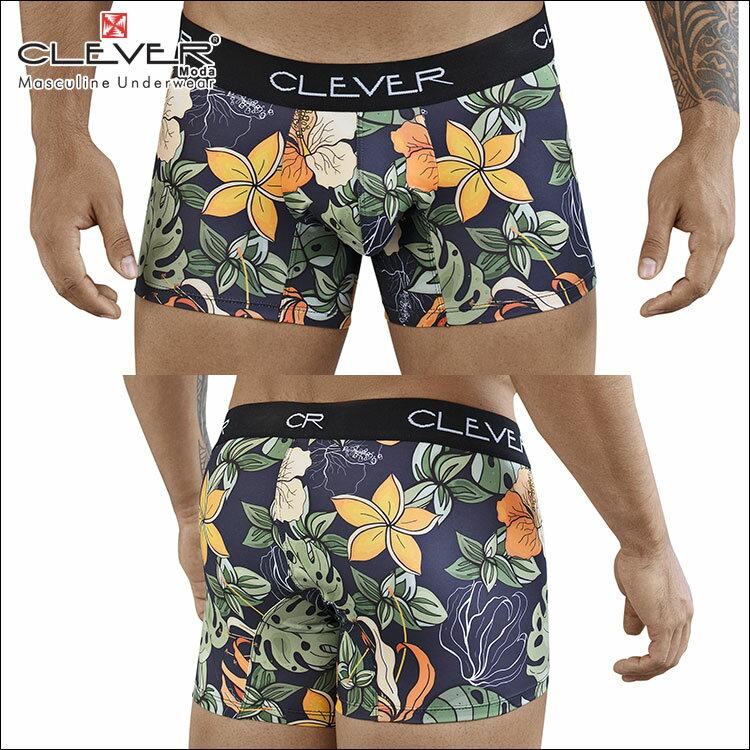 クレバー 【CLEVER2018-4】 CLEVER ボクサーパンツ メンズ Ref,2384 Lotus Boxer ローライズボクサー 【男性下着 下着 ボクサー メンズ Men's ショート】メンズ下着 ブランド 彼氏 プレゼント CLEVER ボクサーパンツ ボクサーパンツ メンズ