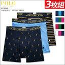 ボクサーパンツ メンズ セット【ポロ・ラルフローレン/Polo Ralph Lauren】メンズボクサーパンツ 3枚組セット 人気ブ…