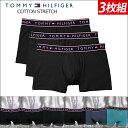 【ボクサーパンツ】【TOMMY HILFIGER トミーフィルフィガー 】3枚組 ボクサーパンツ メンズ 下着 ボクサー 09T3351 メンズ下着 アンダ…