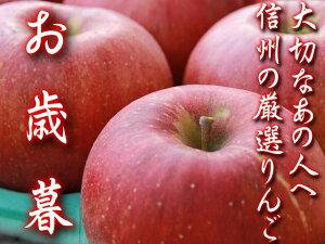 長野県北信州産 厳選蜜入りふるさとふじりんご3kg