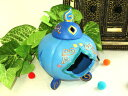 Marylin Bottero(マリリン・ボッテロ) アラビアン メルヘン 陶器 アロマポット 【ブルー】 モロッコ インテリア雑貨