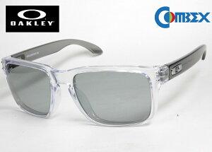(レンズ 入れ換え済)オークリー カスタム偏光 サングラス OAKLEY HOLBROOK RX ホルブルック OX8156-03 / COMBEX コンベックス Polawing SPX102 H フィールドグレイ