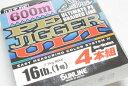 サンライン PEジガー ULT 4本組 1号(16lb)-600m