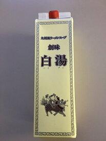 【大容量】創味食品 九州風ラーメンスープ 白湯(パイタン) 1.8L 業務用