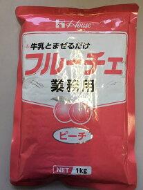 【大容量】ハウス食品 フルーチェ<ピーチ> 1kg 業務用