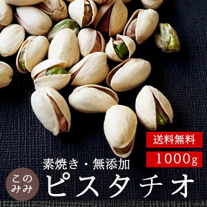 【送料無料】素焼きピスタチオ殻付き1000g