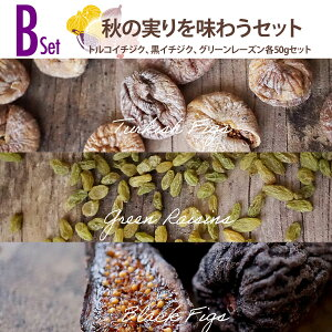 【送料無料】秋のドライフルーツセットB 秋に色づくオータムセット