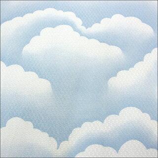 晴れってキモチイイ雲柄ミラーカーテン2枚組ミラーレースカーテン(レースカーテン)【HLS_DU】【RCP】
