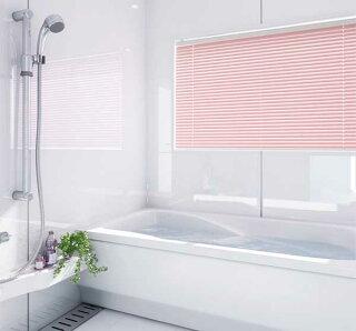 ブラインド遮光浴室用浴室TOSOブラインドコルトブラインド25浴窓テンションタイプ羽幅25mmビス不要タイプ幅28cm〜80cm×丈11cm〜80cm