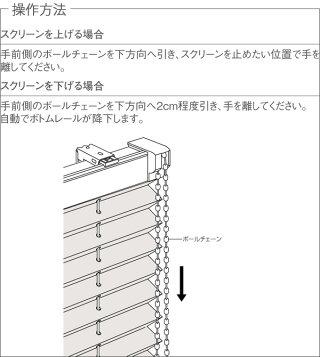 プリーツスクリーンシングルスタイルしおり25チェーンコルト扇TP7051〜TP7070幅33cm〜49cm×丈30cm〜60cm