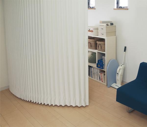 TOSO アコーディオンドア(アコーディオンカーテン) クローザーライト セレクト 幅101〜125cm×丈231〜240cm