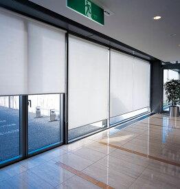 ロールスクリーン ニチベイ 平織りミディアム ロールカーテン 幅81〜120cm×丈50〜80cm
