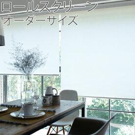 トーソー(TOSO) ロールスクリーン ルノプレーン 標準タイプ 幅51〜80cm×丈161〜200cm