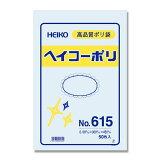 HEIKOポリ袋透明ヘイコーポリエチレン袋0.06mm厚No.61550枚