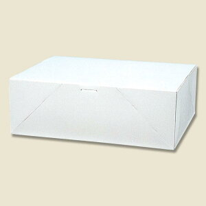 HEIKO 箱 ケーキ用ケース 洋生 白 E ケーキ10個用 50枚