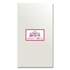 HEIKO OPP袋 クリスタルパック POD F25−45(フレームシール) 100枚