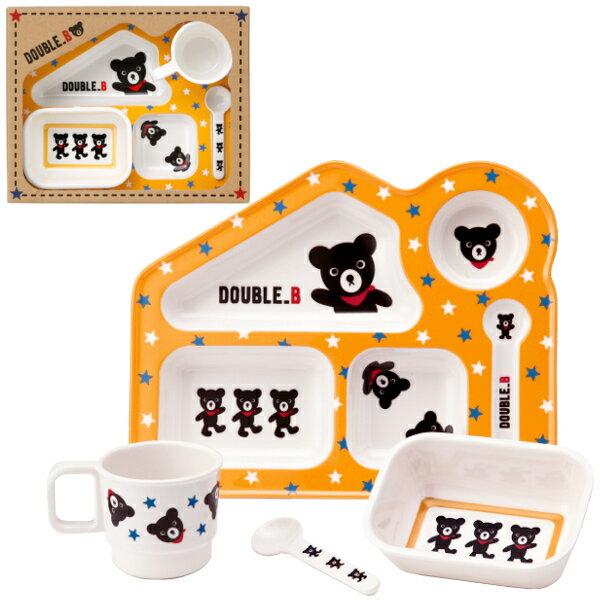 MIKI HOUSE(ミキハウス)★【ダブルB】【箱付】テーブルウェア・食器セット