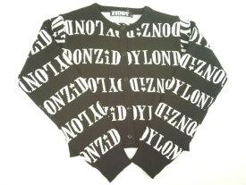 【セール】ZIDDY(ジディー)★【ニコプチ・JSガール掲載ブランド】ロゴ総柄インターシャニットカーディガン