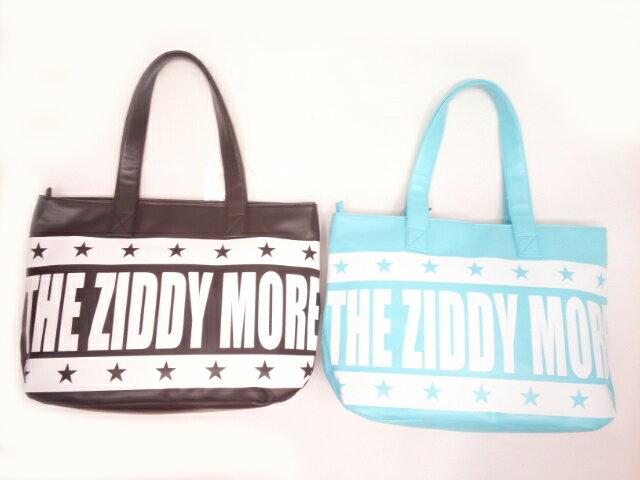 ZIDDY(ジディー)★【こだわりギフト】BIGロゴプリント高級感たっぷり合皮トートバッグ