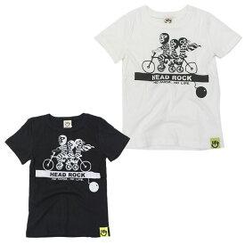 9a9c514a415d8 ヘッドロック HEAD ROCK キッズ ジュニア サイクリング ビートルマスクマン Tシャツ 半袖 男の子 90 100 110