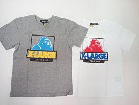 エクストララージキッズ XLARGE KIDSベビー 配色カラーOGゴリラプリント半袖Tシャツ 半袖 Tシャツ 80 90 100 110 120 130 140cm