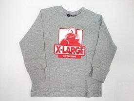 エクストララージキッズ XLARGE KIDS ジュニア キャップをかぶったOGゴリラ長袖Tシャツ 長袖 Tシャツ 80 90 100 110 120 130 140cm