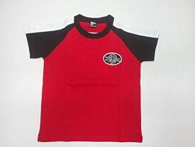 ラッドカスタム RADCUSTOM スカジャン風刺繍爽やか半袖Tシャツ 半袖 Tシャツ 100 110 120 130 140 150 160cm